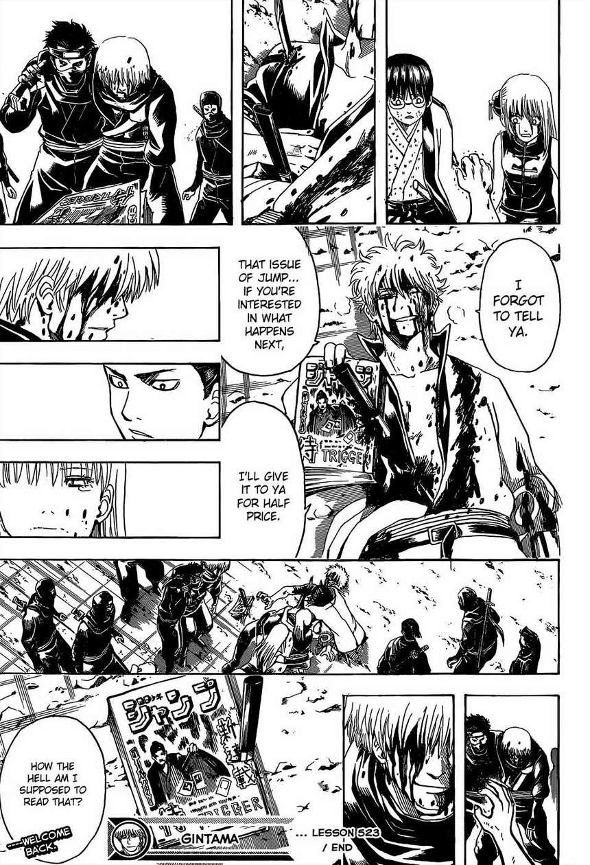 Gintama Chapter, 523 image 018