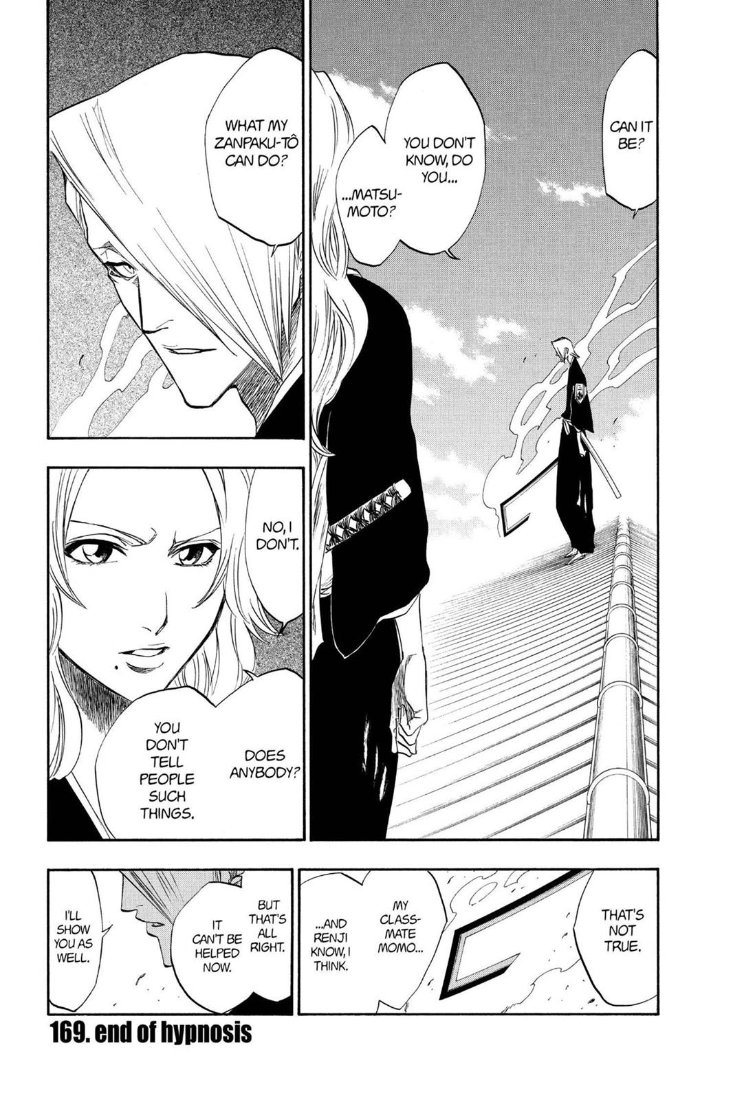 Bleach, Chapter 169 image 001