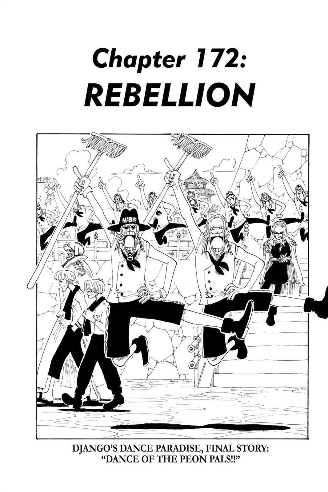 One Piece, Chapter 172 image 001
