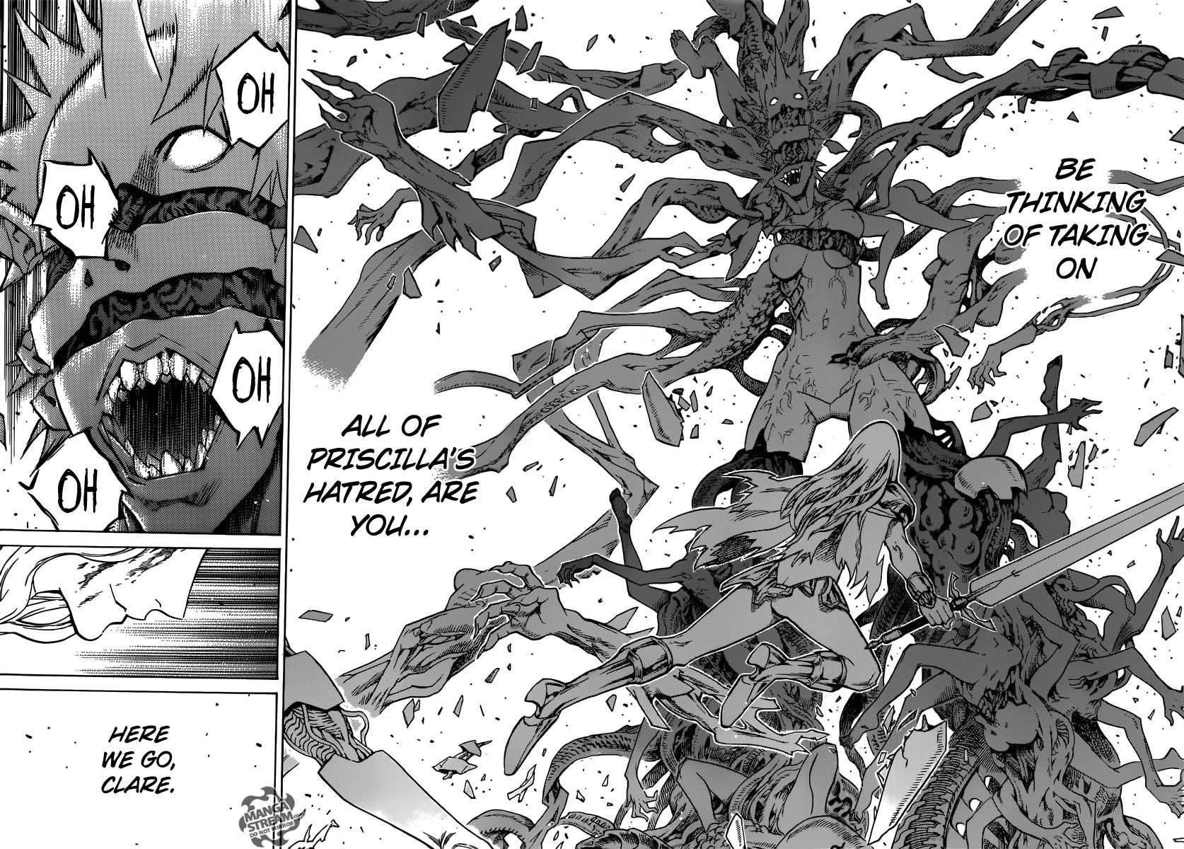 Claymore, Chapter 153 image 020