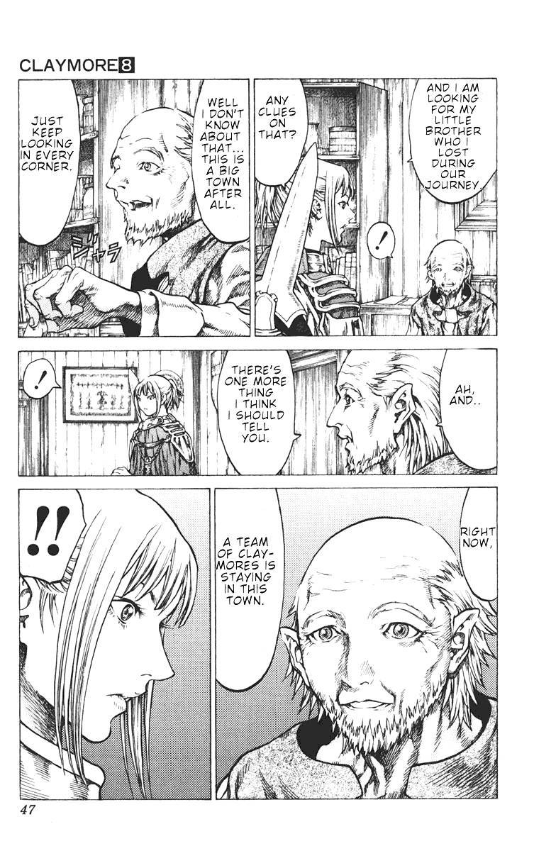 Claymore, Chapter 41 image 010