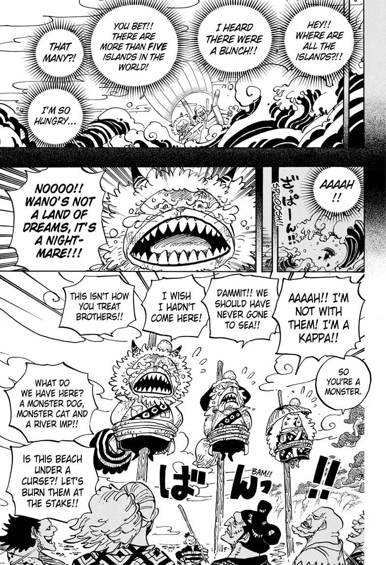 One Piece, Chapter 963 image 003