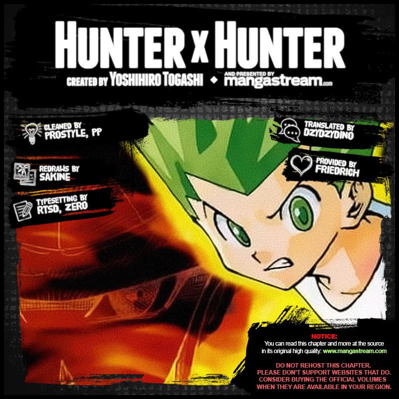 Hunter X Hunter, Chapter 384 image 002