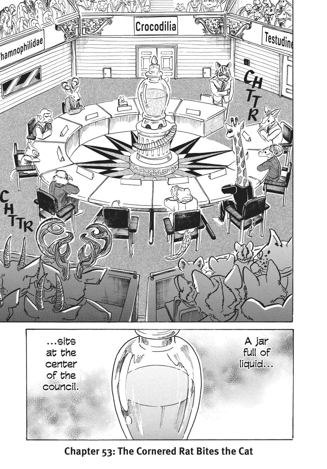 Beastars Manga, Chapter 53 image 005