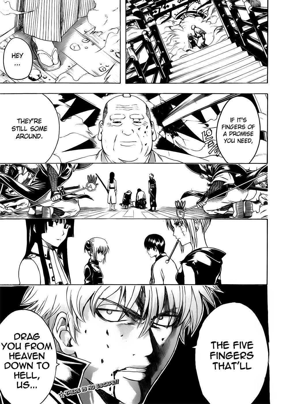 Gintama Chapter, 391 image 019