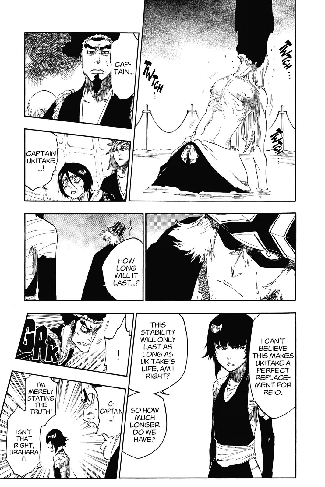 Bleach, Chapter 617 image 011