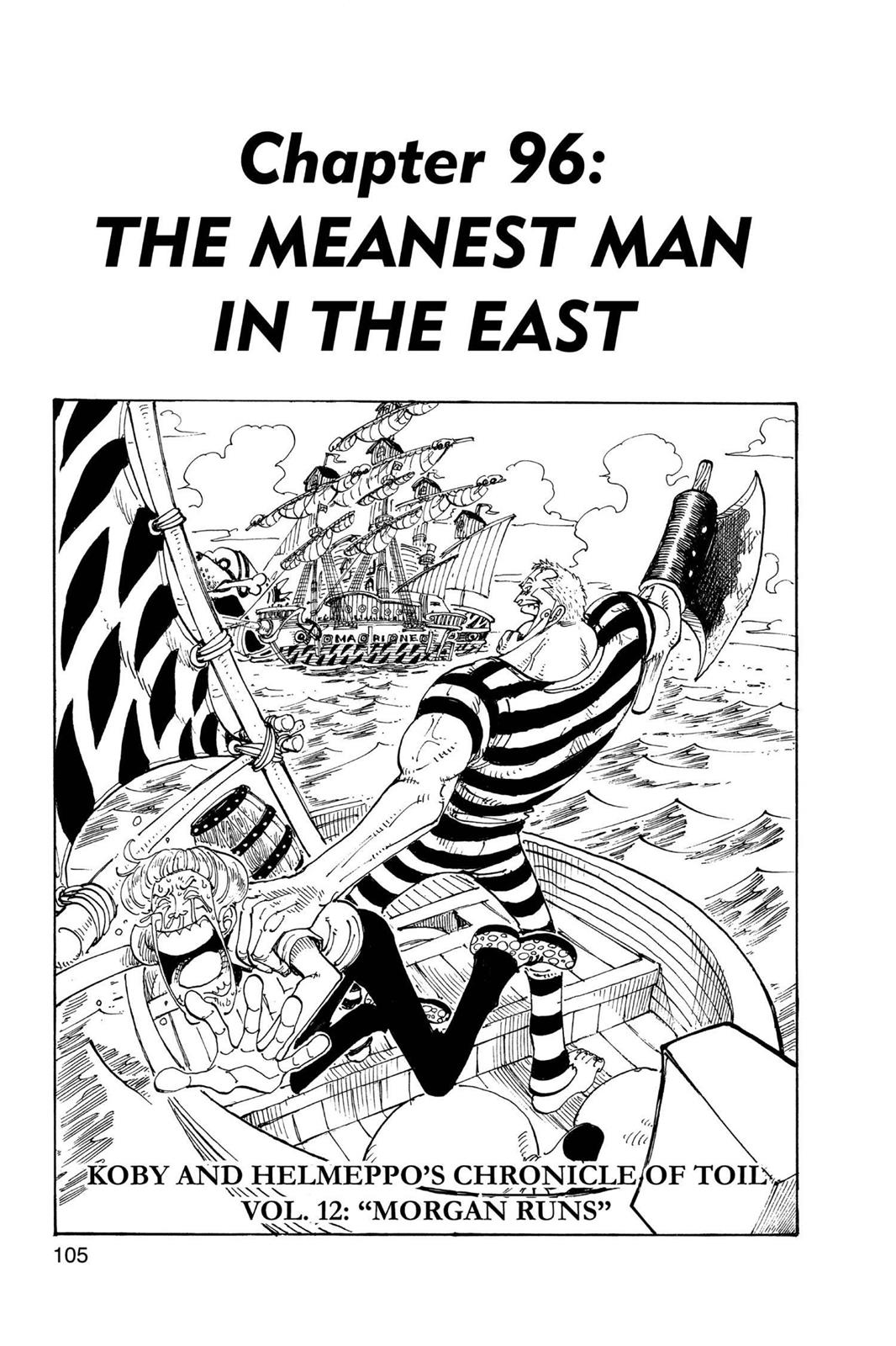 One Piece, Chapter 96 image 001