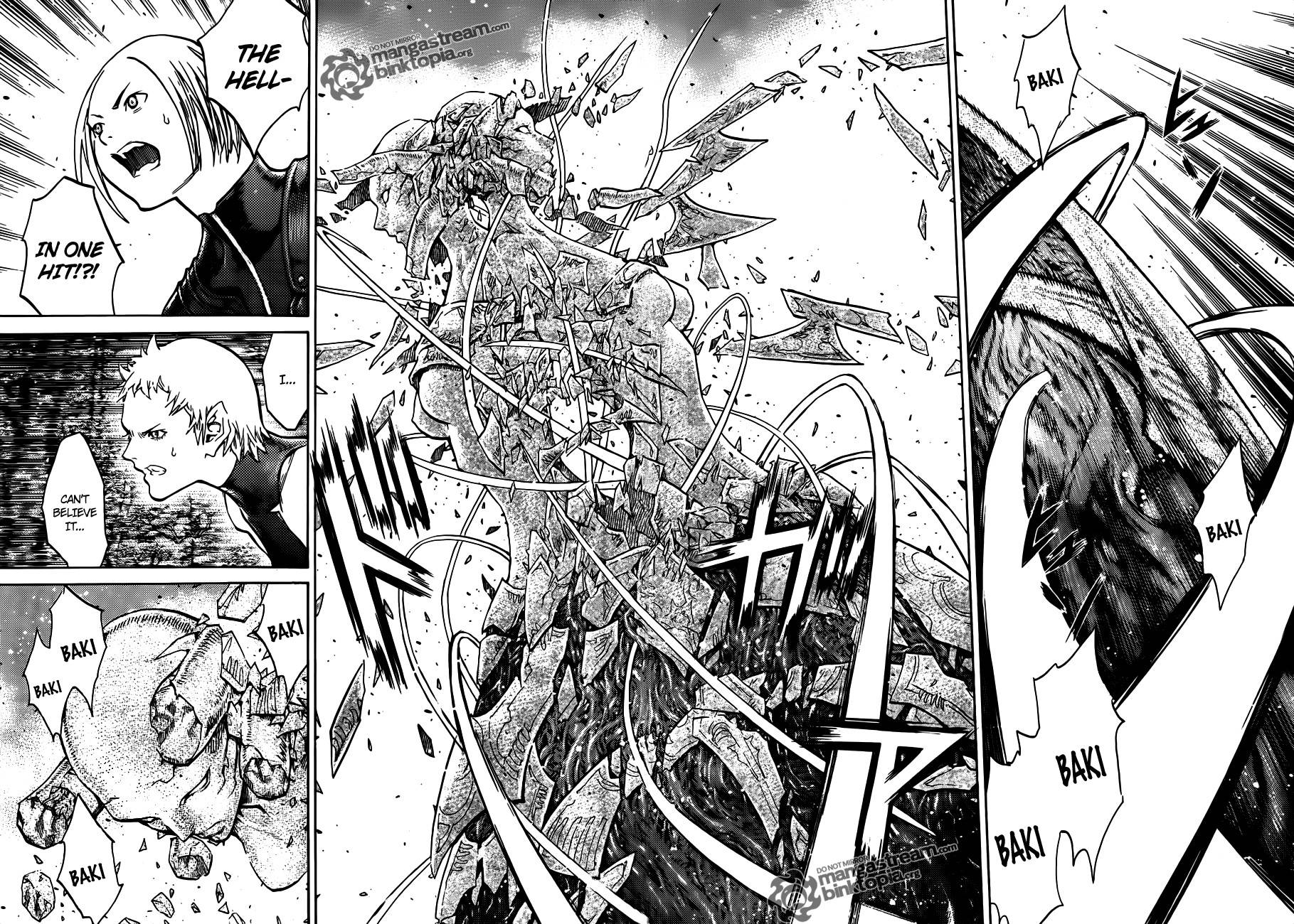 Claymore, Chapter 104 image 013
