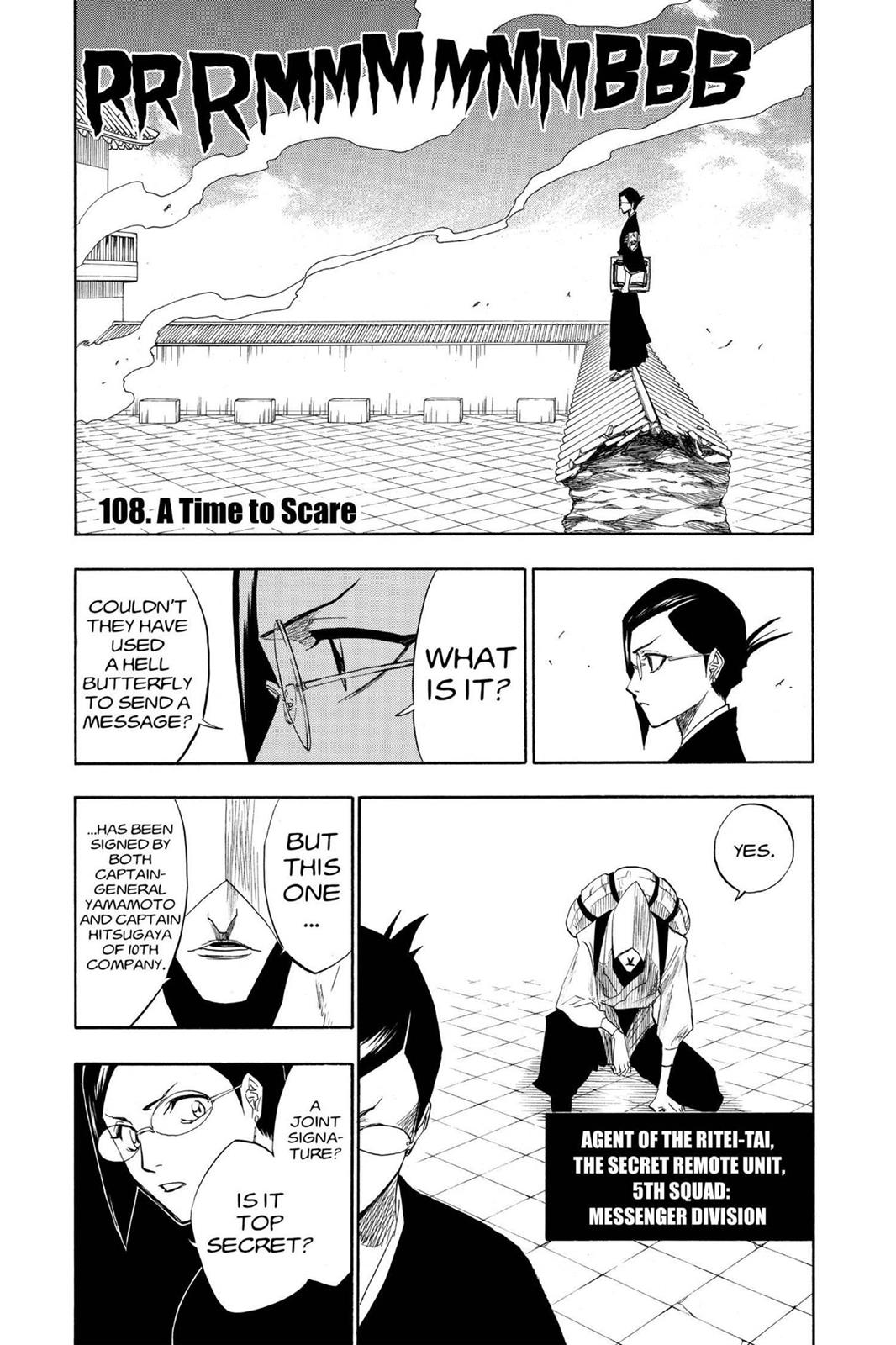 Bleach, Chapter 108 image 008