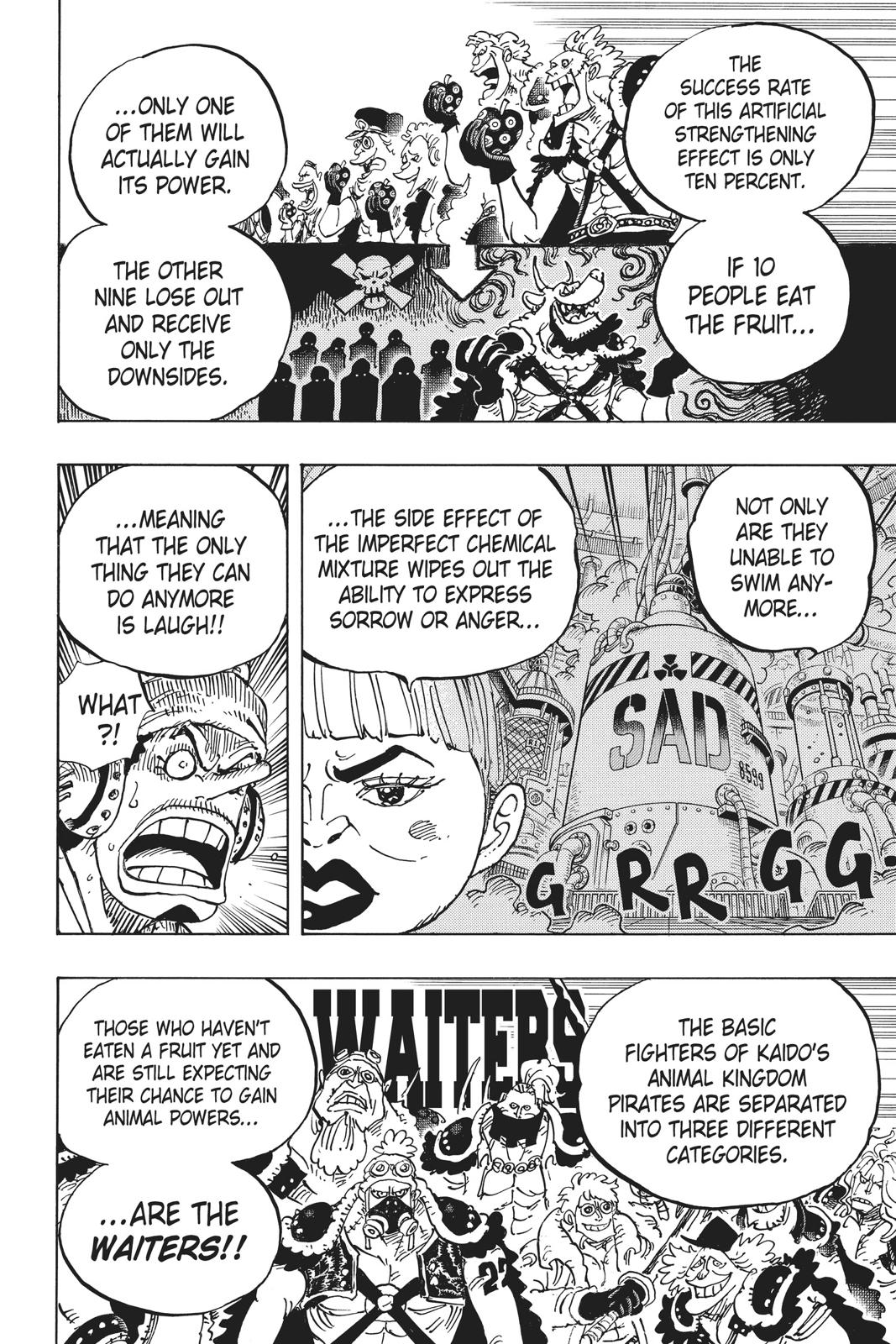 One Piece, Chapter 943 image 016