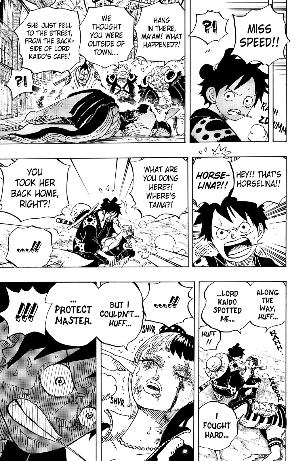 One Piece, Chapter 923 image 004