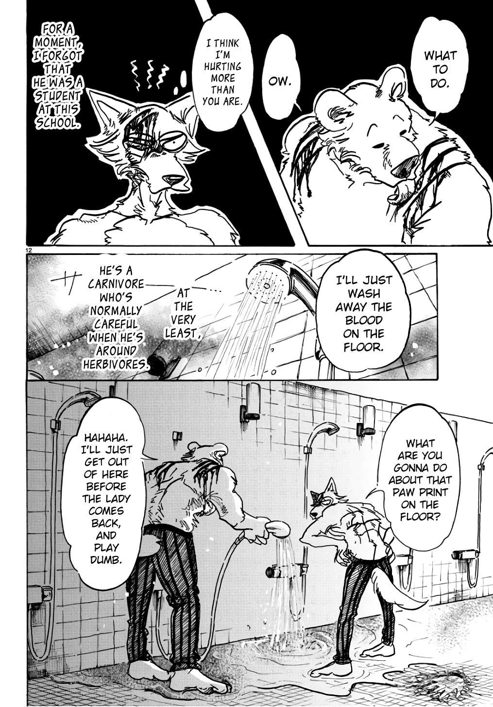 Beastars Manga, Chapter 85 image 012