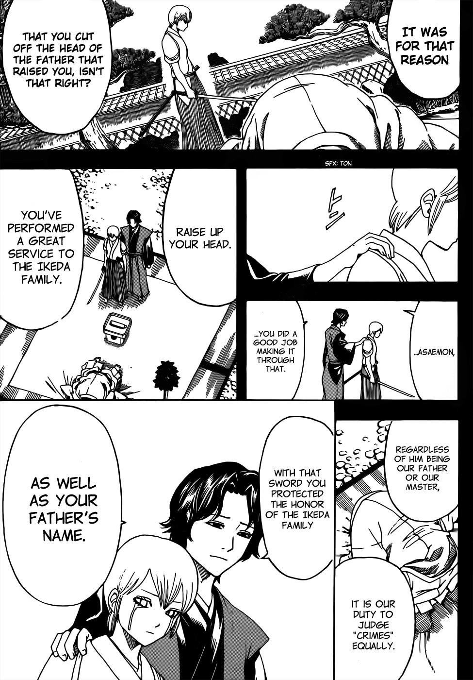 Gintama Chapter, 266 image 007