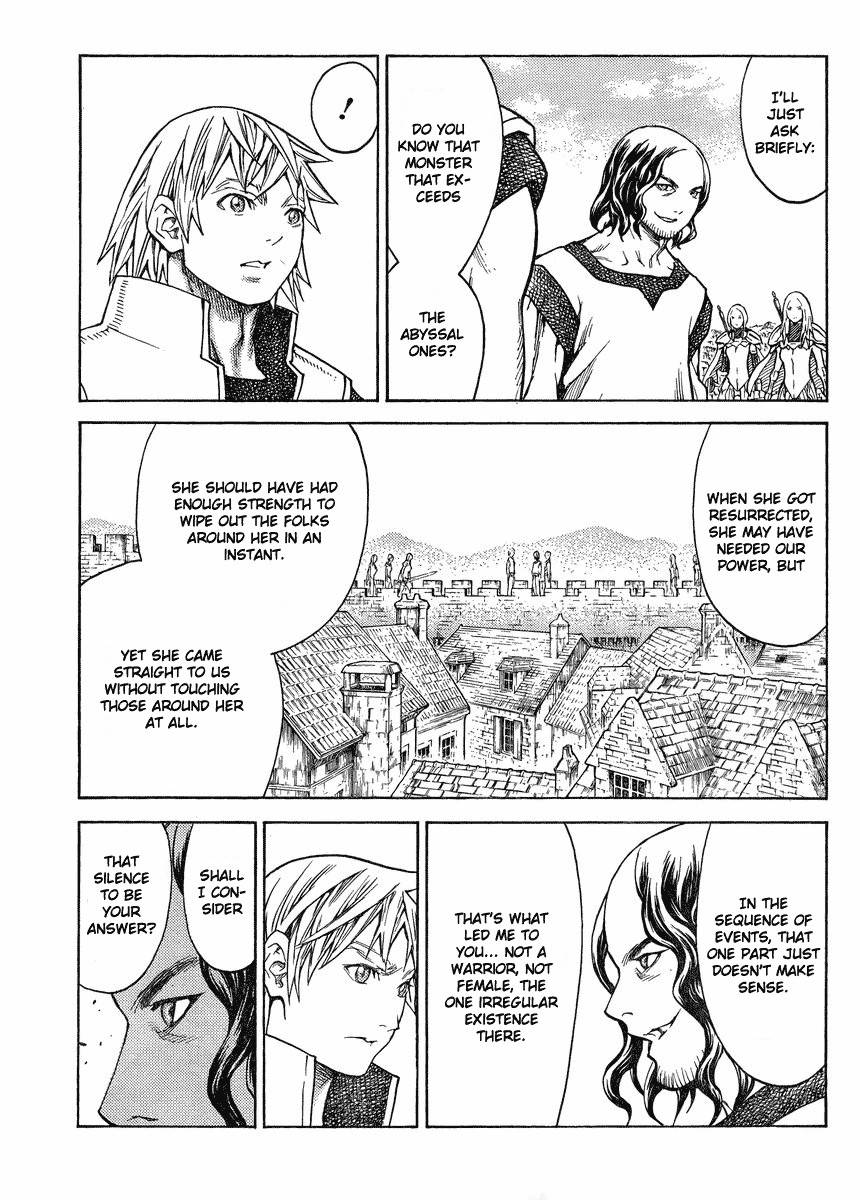 Claymore, Chapter 132 image 009