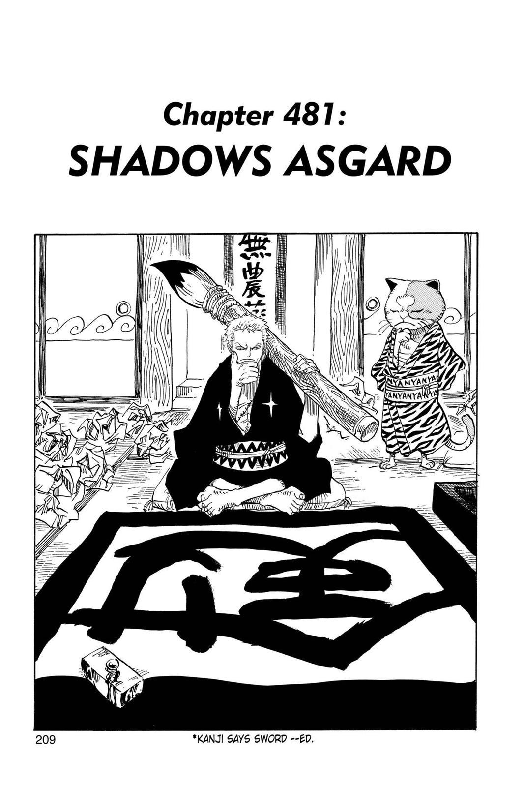 One Piece, Chapter 481 image 001