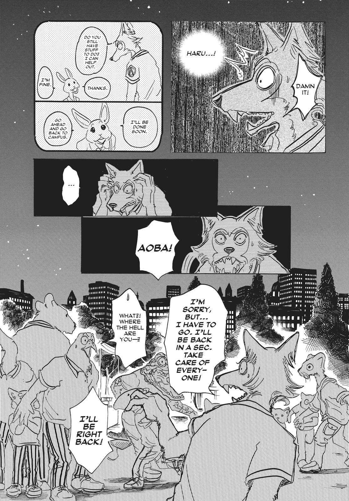 Beastars Manga, Chapter 32 image 013
