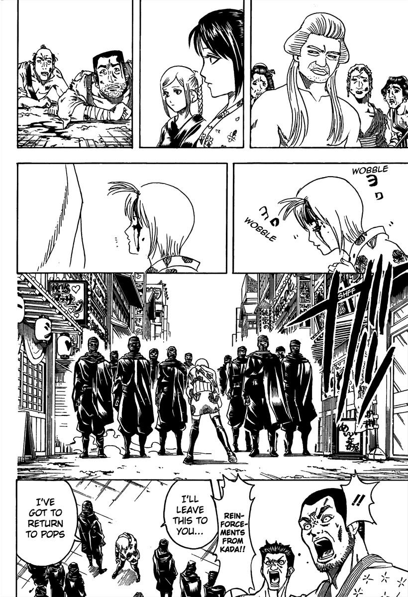 Gintama Chapter, 305 image 012