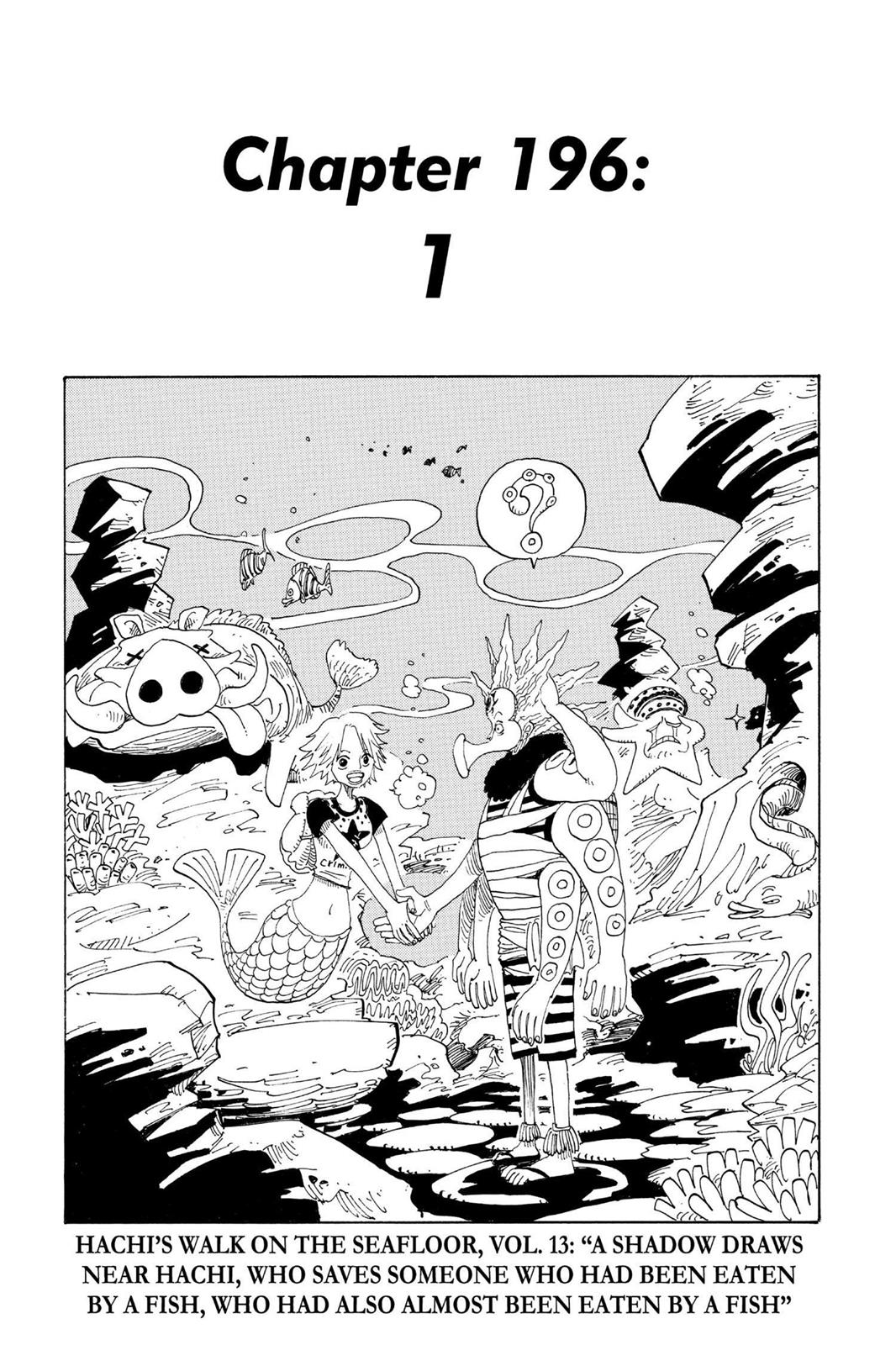 One Piece, Chapter 196 image 008