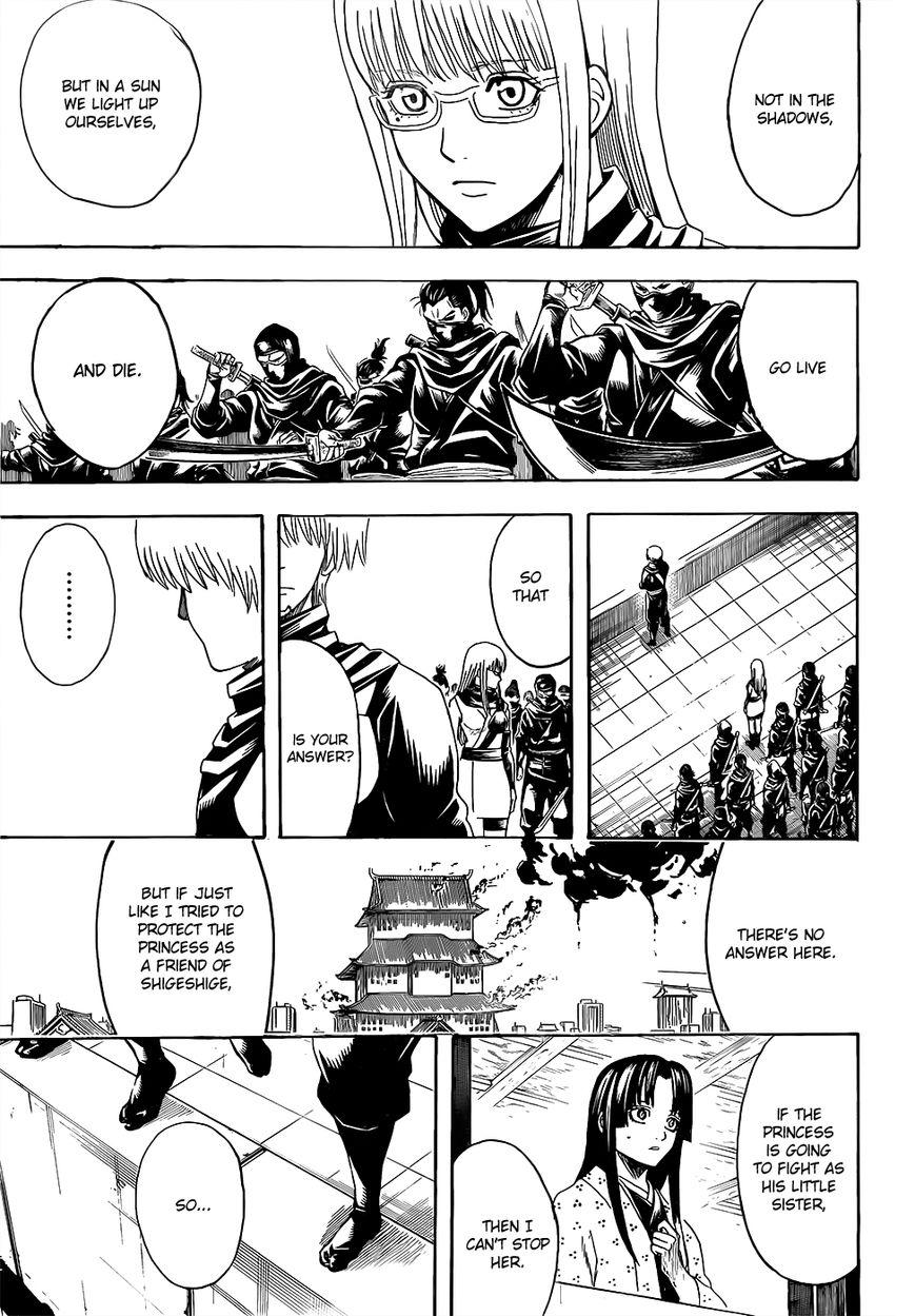 Gintama Chapter, 607 image 015