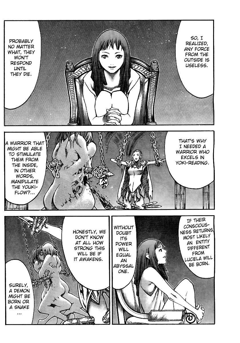 Claymore, Chapter 82 image 031