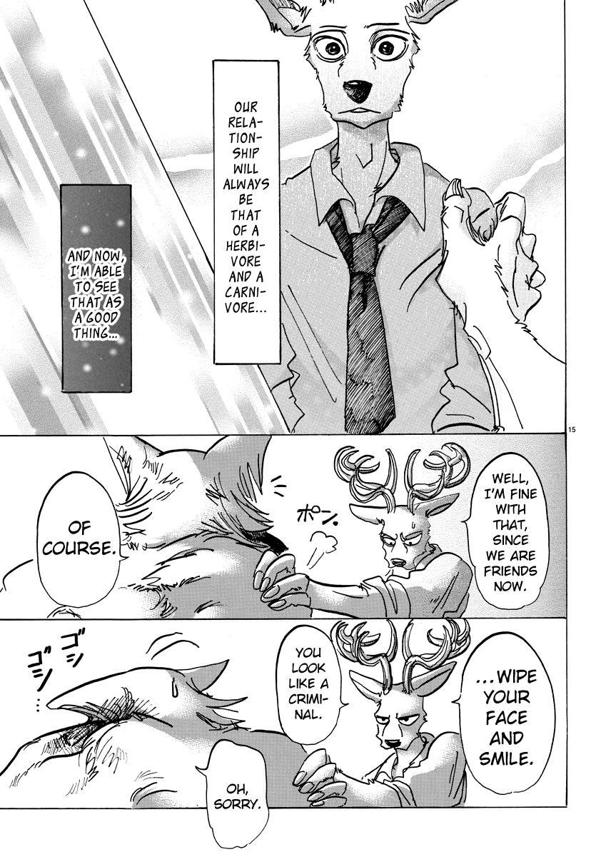 Beastars Manga, Chapter 97 image 015
