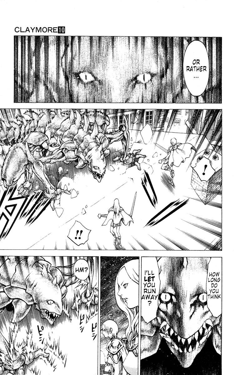 Claymore, Chapter 57 image 007