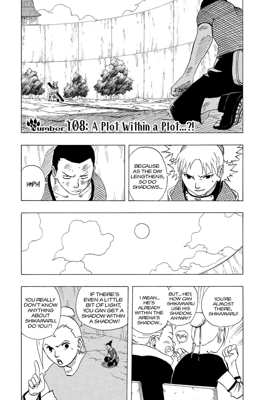Naruto, Chapter 108 image 001