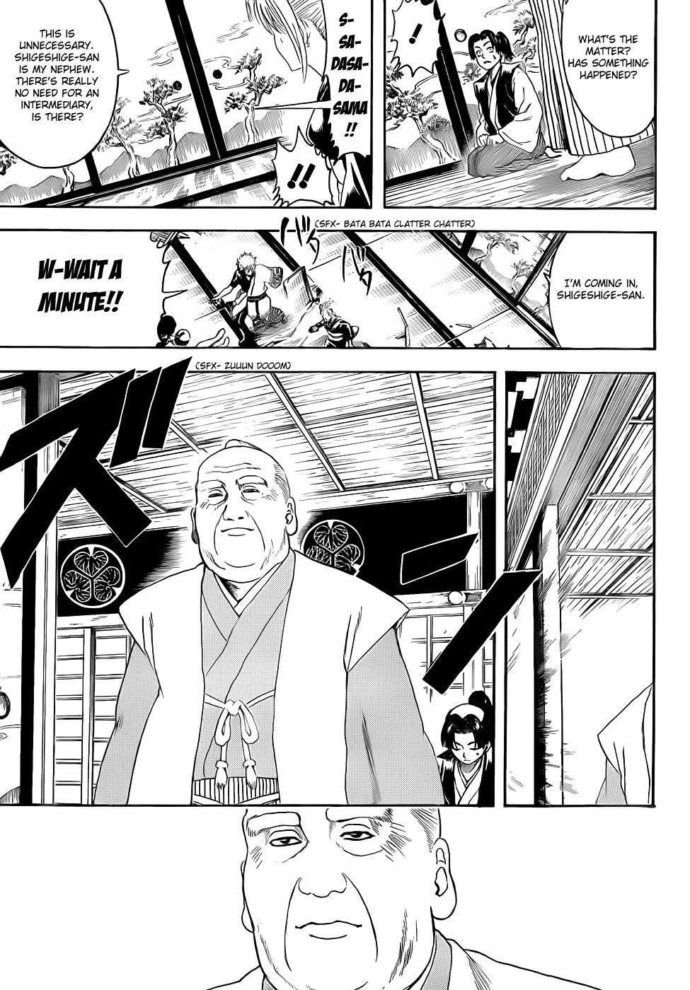 Gintama Chapter, 388 image 003