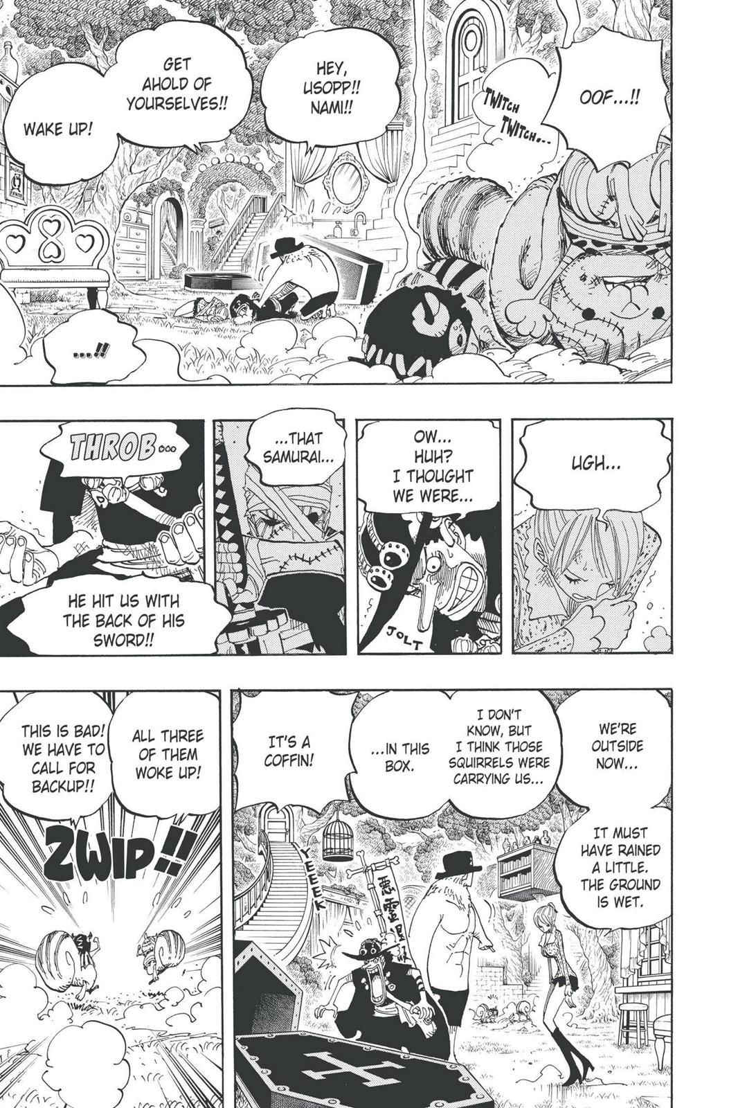 One Piece, Chapter 451 image 009