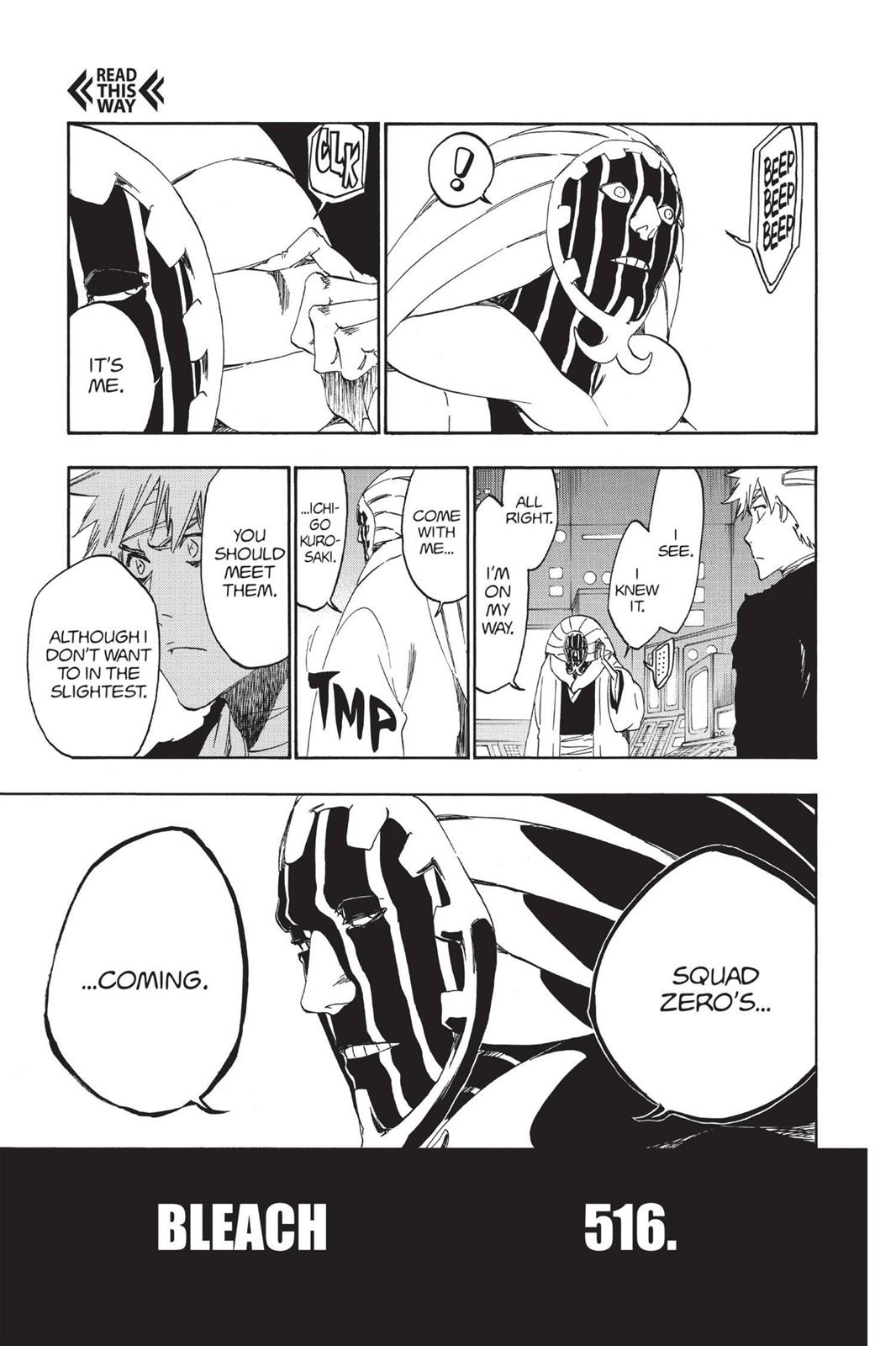 Bleach, Chapter 516 image 009
