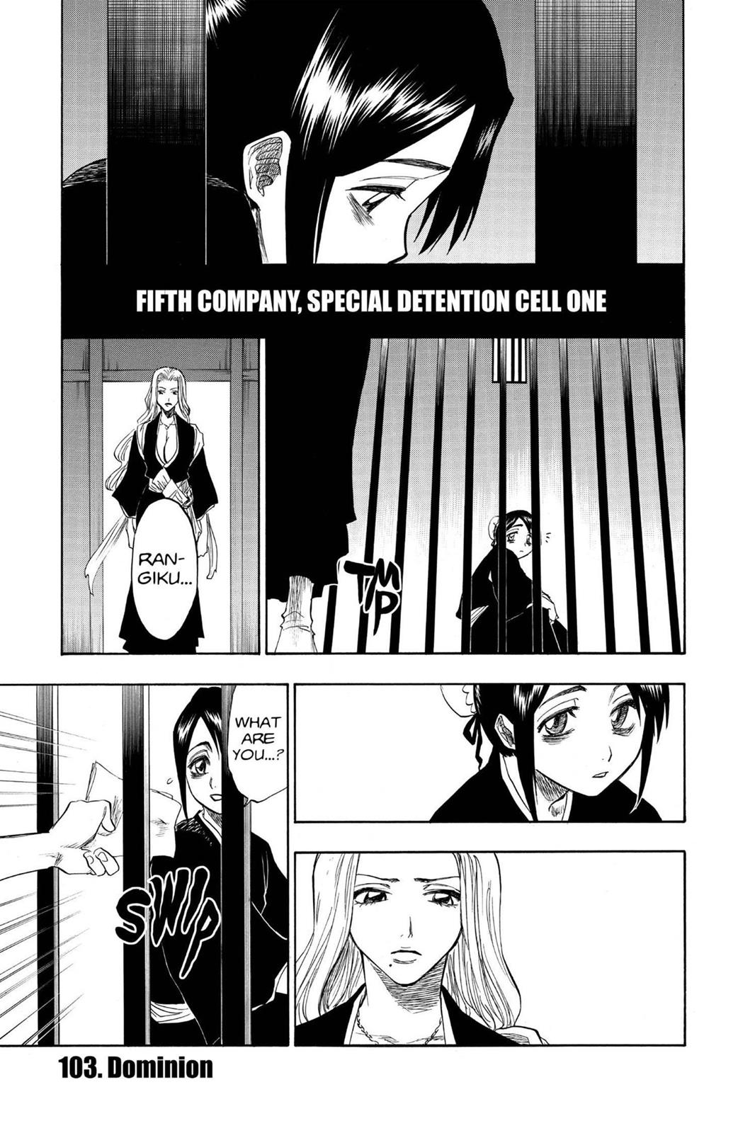 Bleach, Chapter 103 image 001