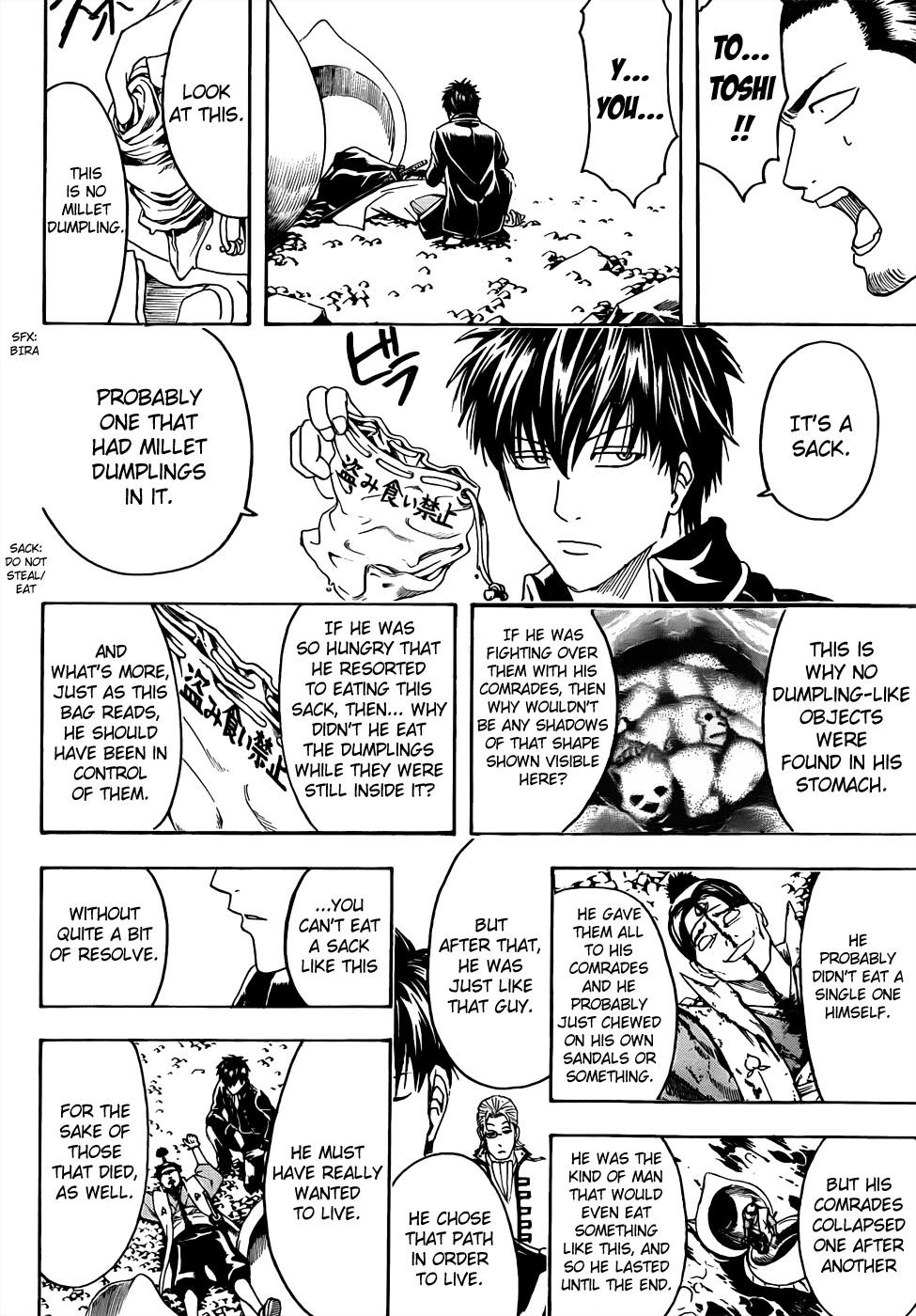 Gintama Chapter, 435 image 018
