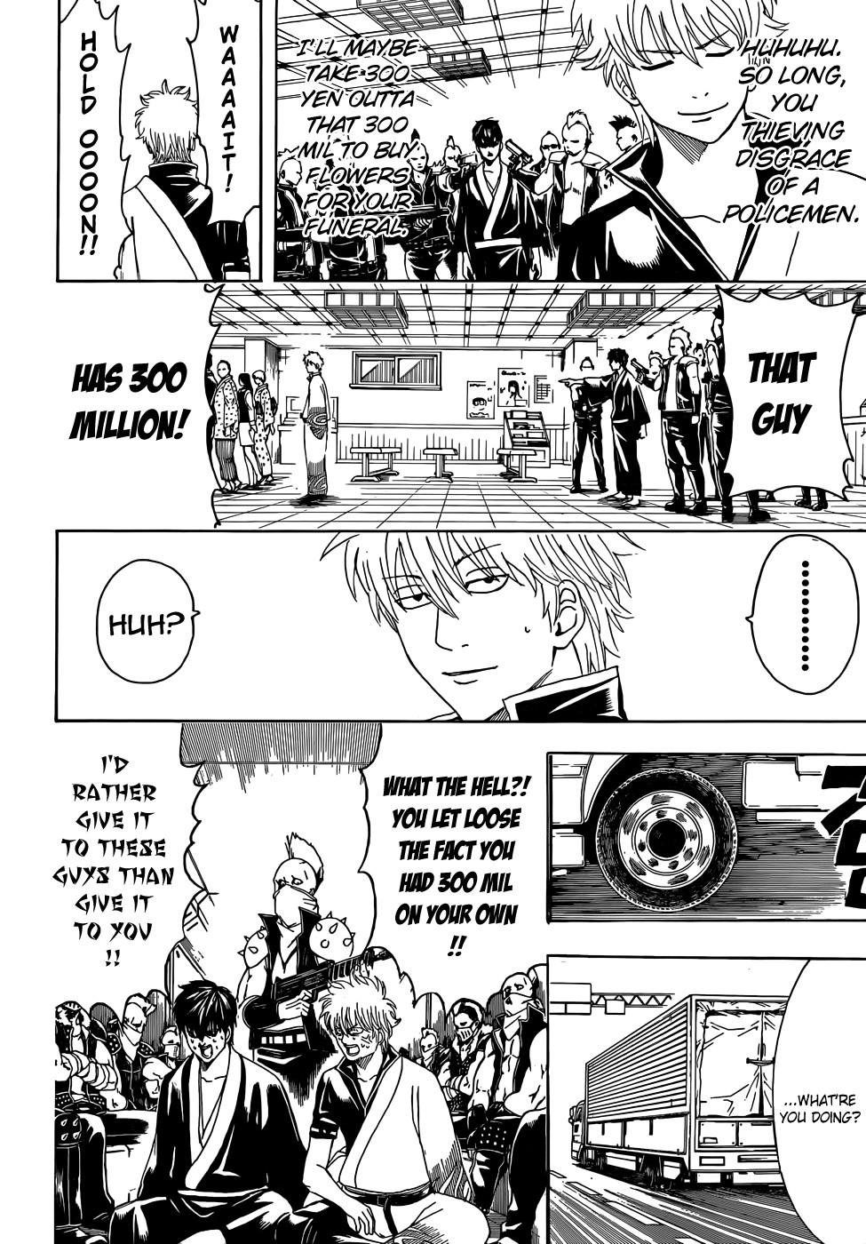 Gintama Chapter, 451 image 010
