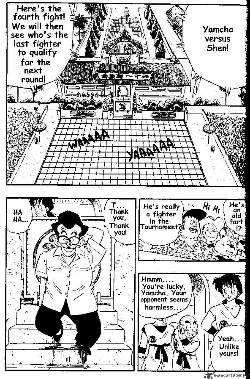 Dragon Ball, Chapter 174 image 001