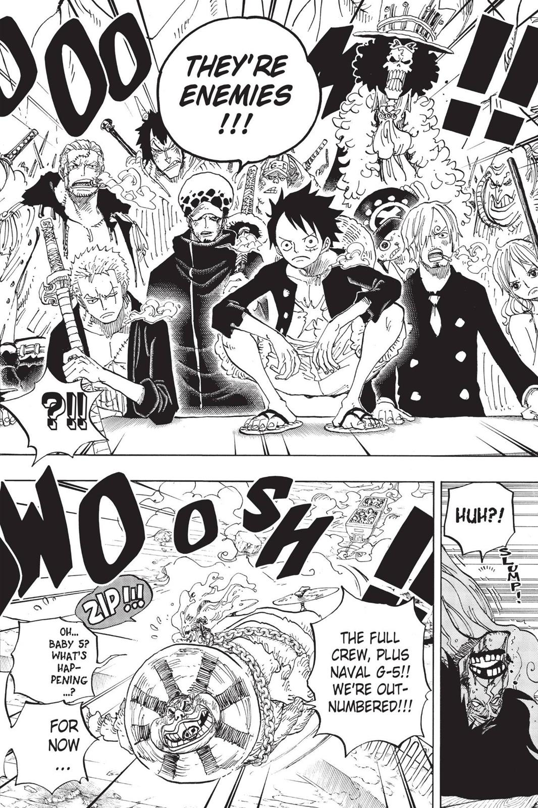 One Piece, Chapter 695 image 010