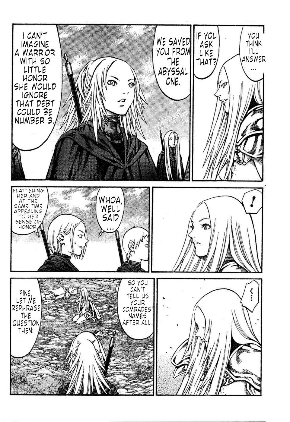 Claymore, Chapter 72 image 014