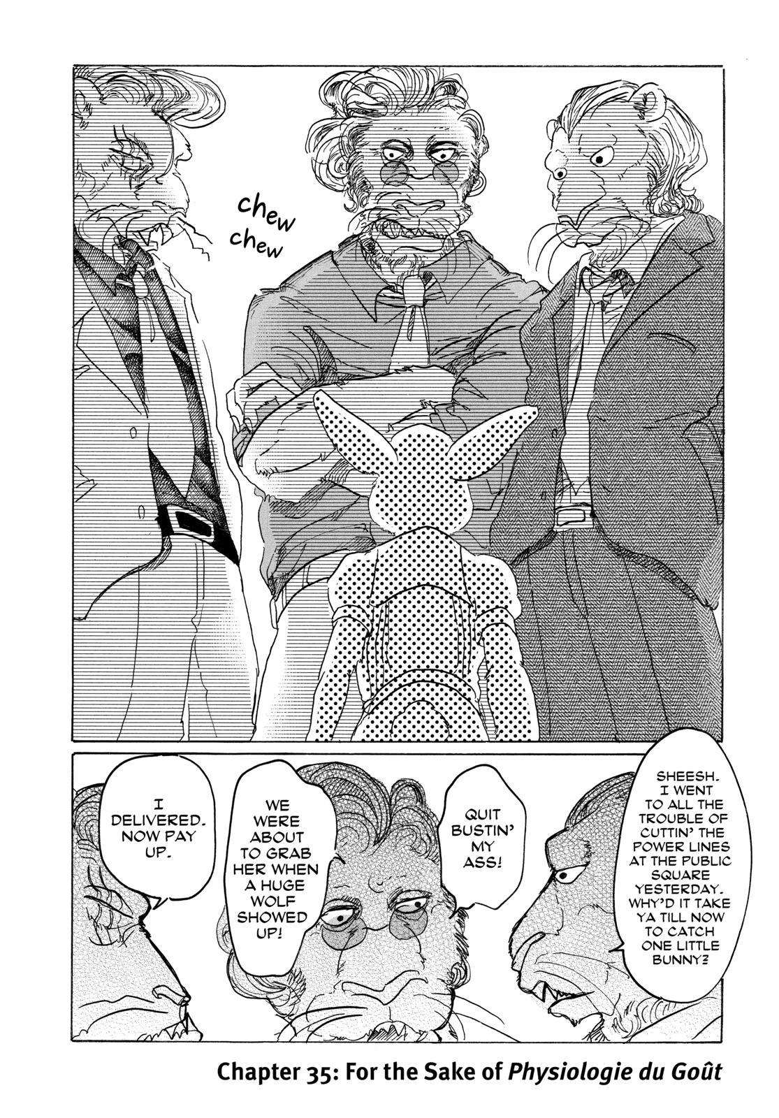Beastars Manga, Chapter 35 image 006