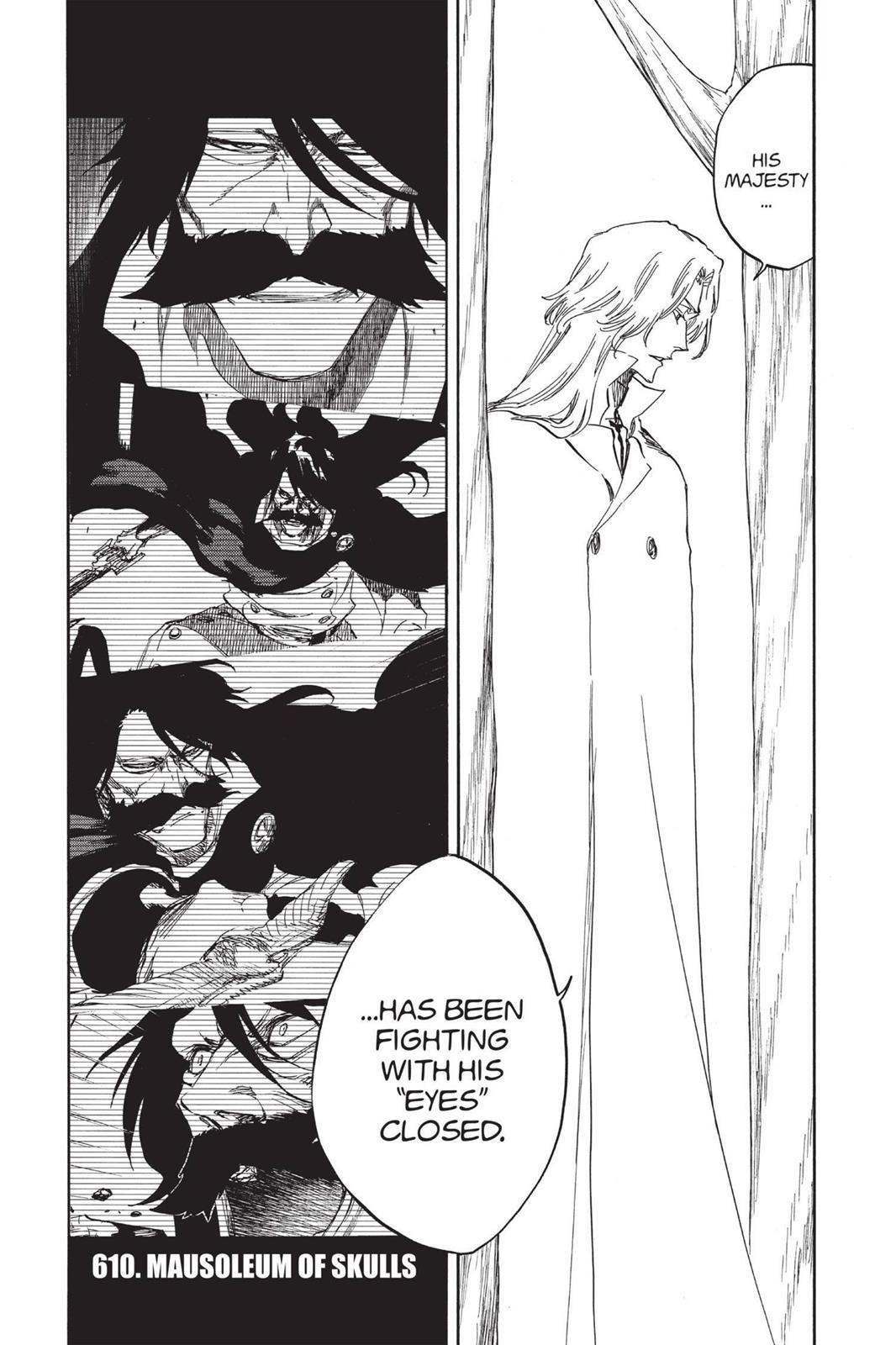 Bleach, Chapter 610 image 001