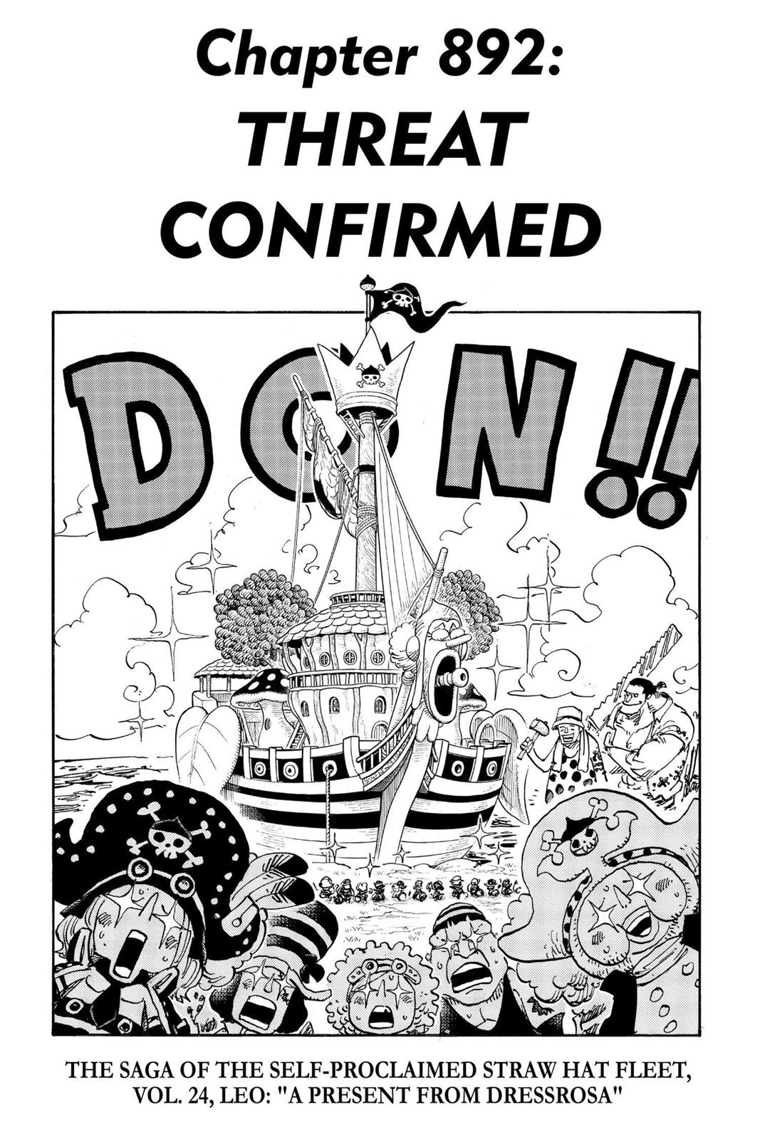 One Piece, Chapter 892 image 001