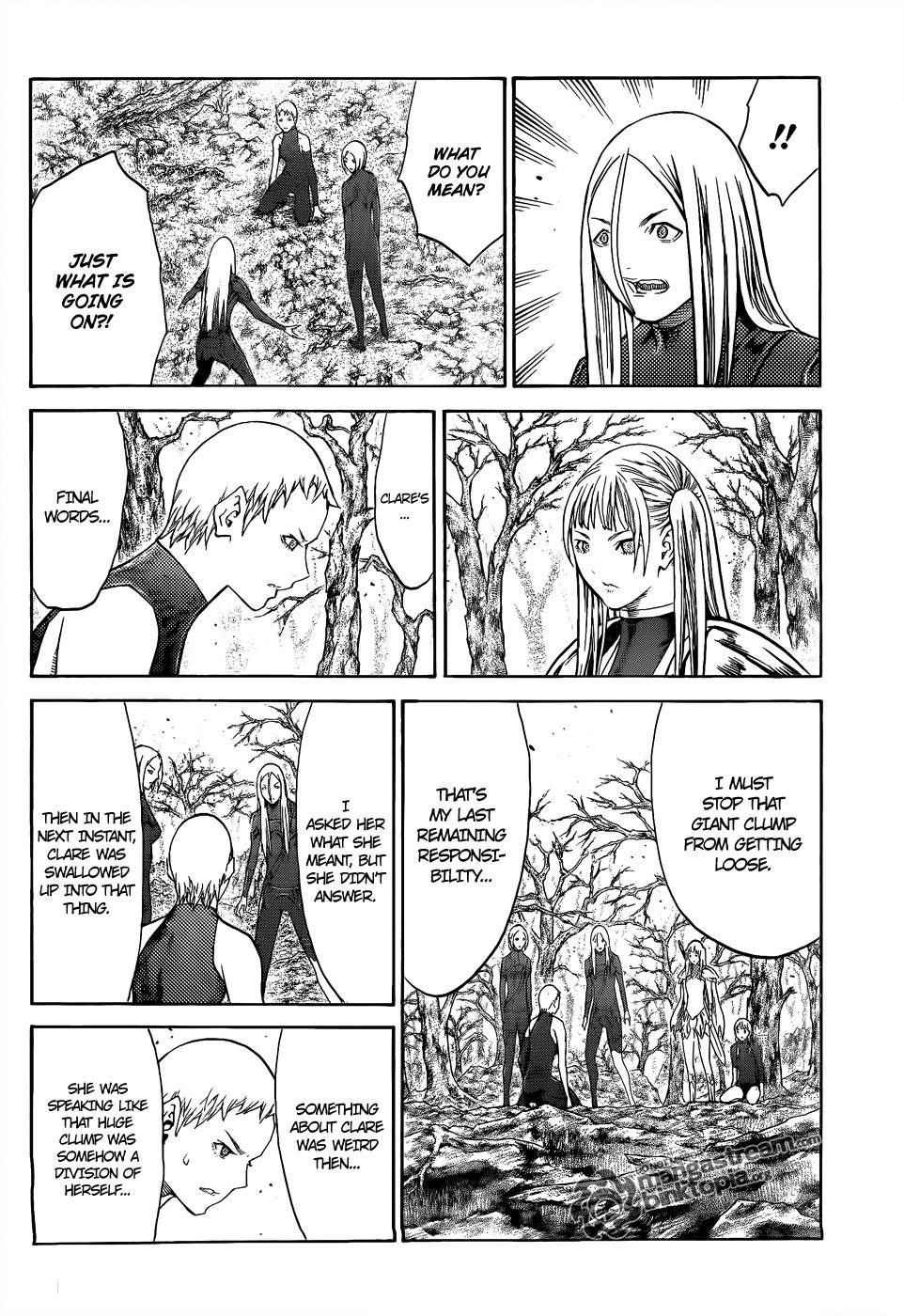 Claymore, Chapter 105 image 031