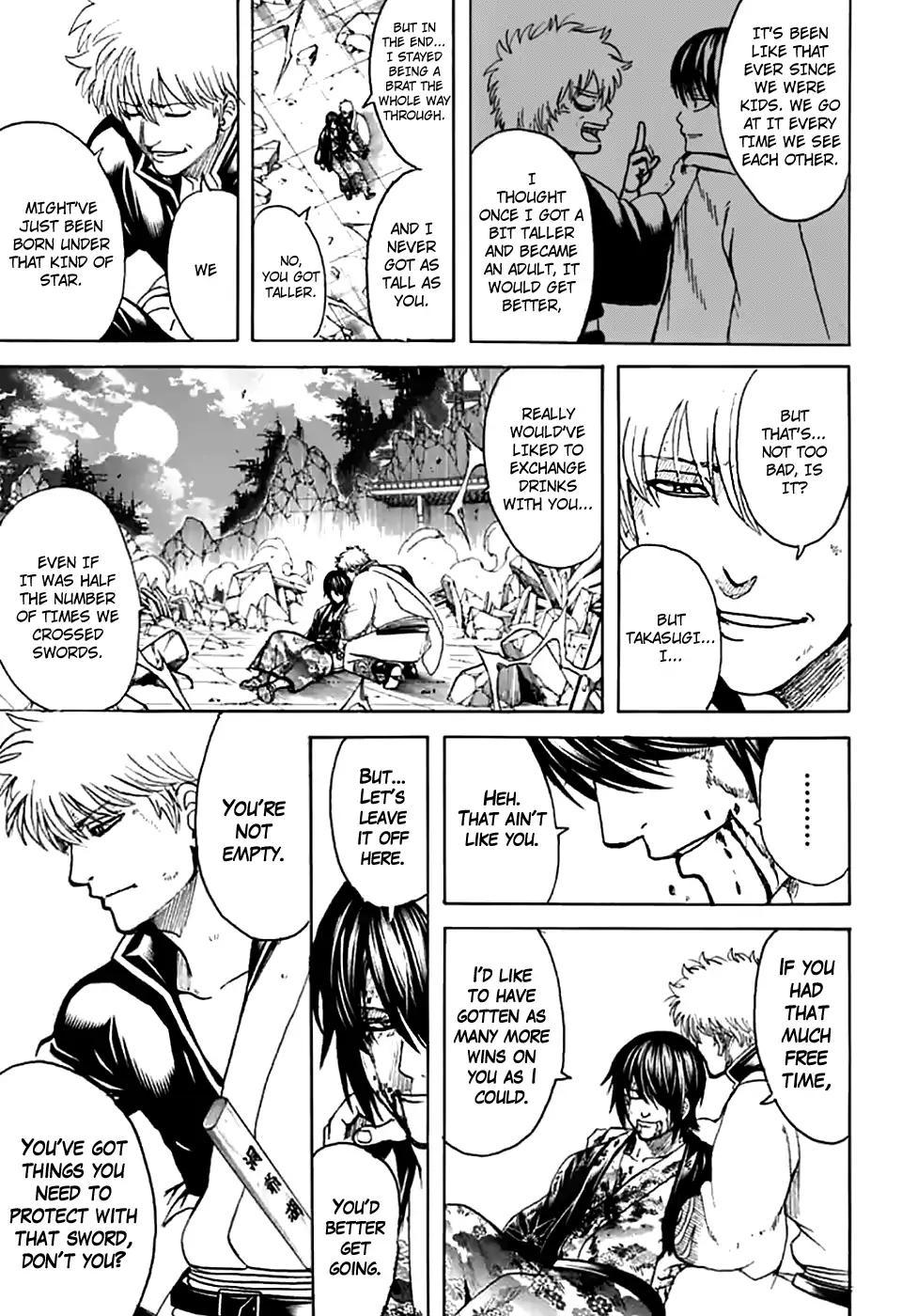 Gintama Chapter, 703 image 037