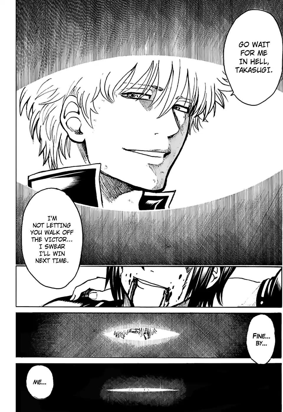 Gintama Chapter, 703 image 040