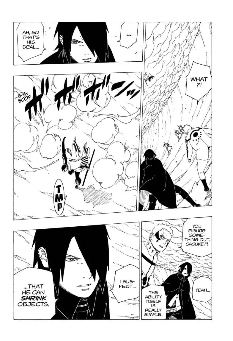 Boruto Manga, Chapter 37 image 028
