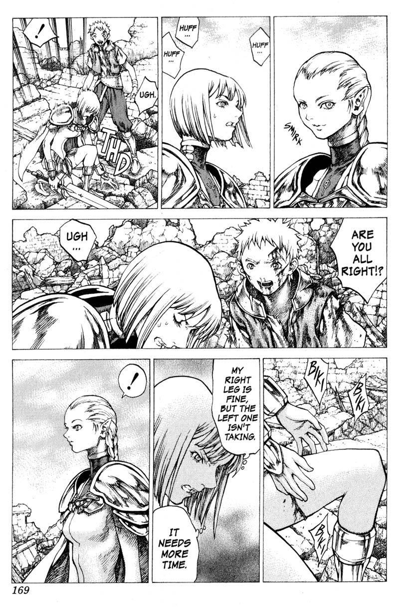 Claymore, Chapter 33 image 009
