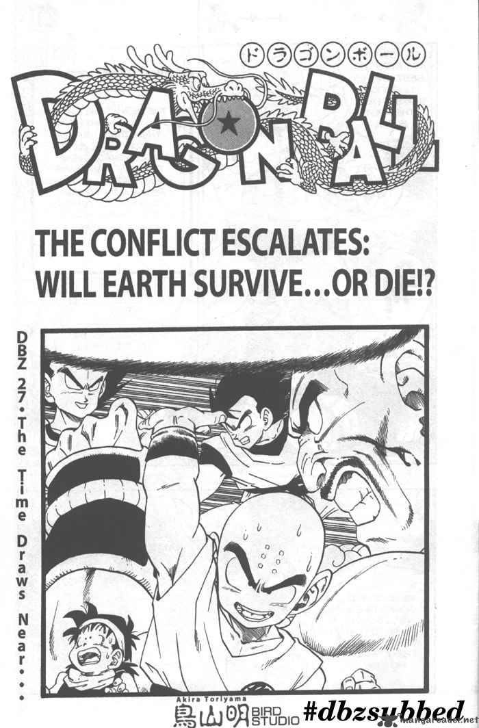 Dragon Ball, Chapter 221 image 001
