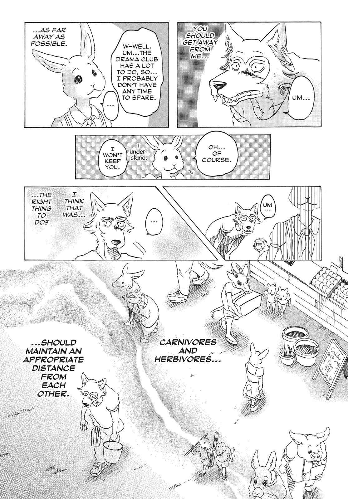 Beastars Manga, Chapter 28 image 014