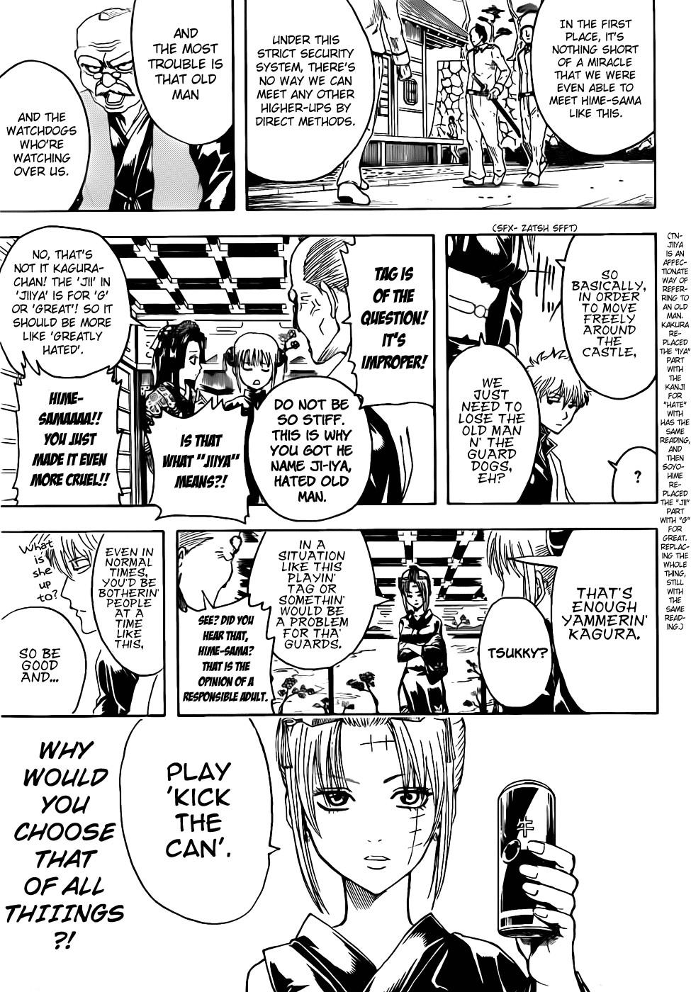 Gintama Chapter, 387 image 013