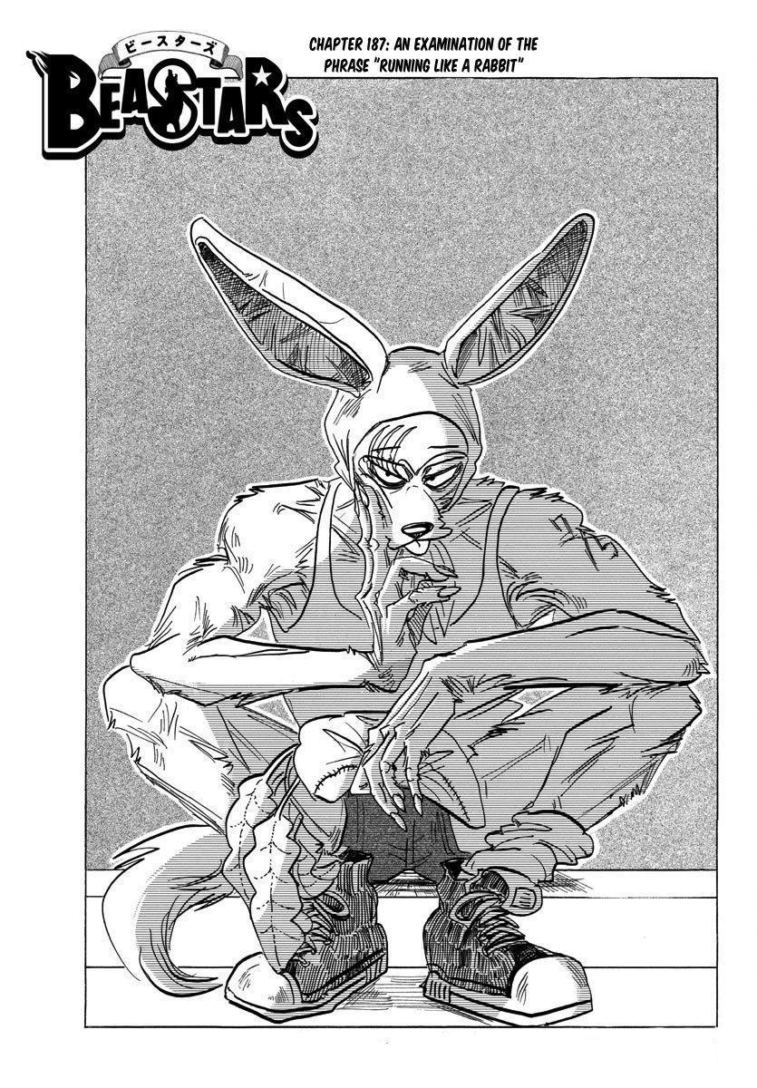 Beastars Manga, Chapter 187 image 001