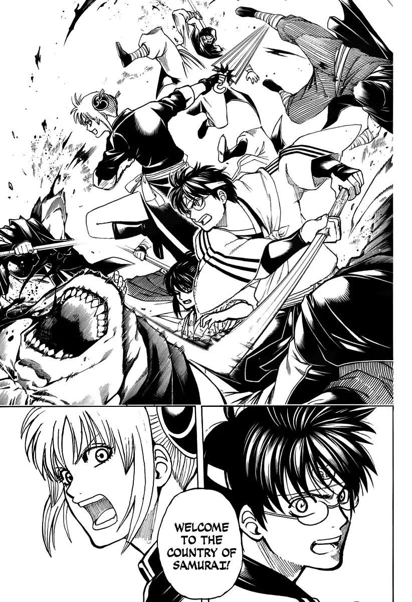 Gintama Chapter, 699 image 031