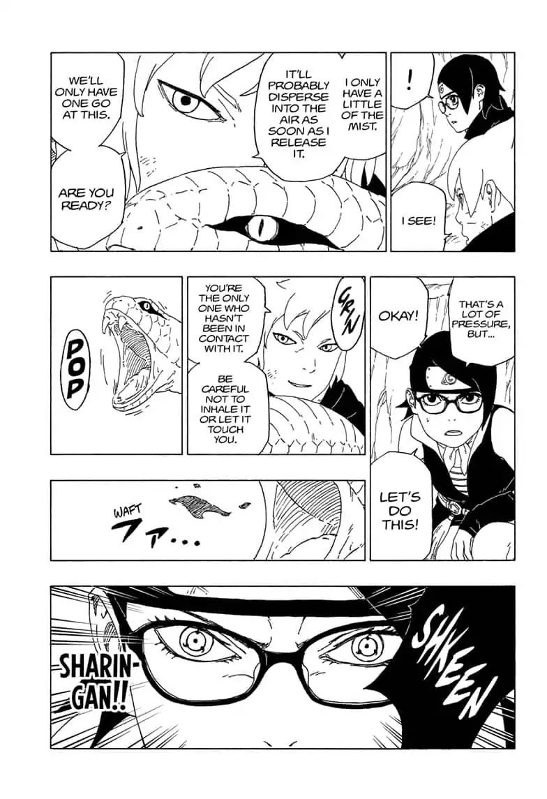 Boruto Manga, Chapter 41 image 005